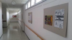 Otvoritev razstave likovnih del Osnovne šole 2, Murska Sobota