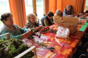 Adventna delavnica-izdelava adventnih venčkov