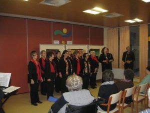 Sveti trije kralji, ženski pevski zbor društva upokojencev Gornja Radgona