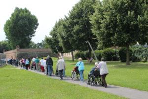 Tradicionalni izlet z vozički
