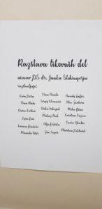 Razstava likovnih del učencev PŠ dr. Janka Šlebingerja