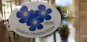 Demenci prijazna točka (Spominčica-Alzheimer Slovenija)