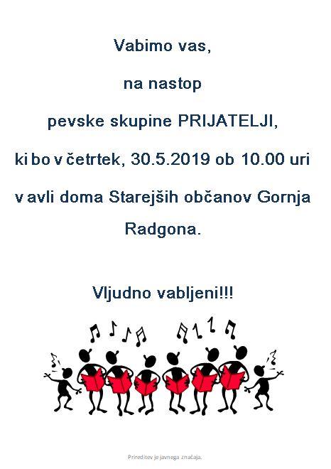 Pevska skupina Prijatelji