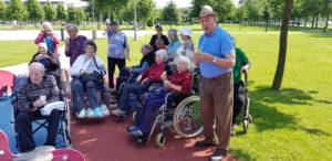 Izlet z vozički za osebe z demenco